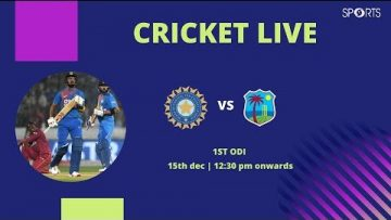 Cricket Live | India Vs West Indies | 1st ODI