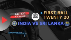 India vs Sri Lanka 1st T20 | First Ball Twenty 20 | AIR