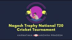 Karnataka VS Andhra Pradesh | Nagesh Trophy National T20 Cricket Tournament