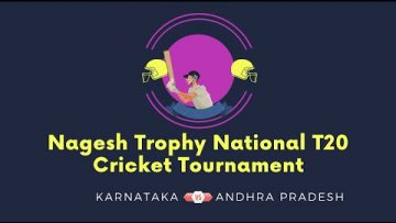 Karnataka VS Andhra Pradesh | Nagesh Trophy National T20 Cricket Tournament